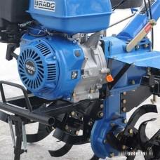 Мотокультиватор Brado BD-1000 с колесами 6.00-12