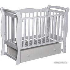 Детская кроватка Антел Северянка 1 (белый)