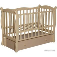 Детская кроватка Антел Северянка 2 (слоновая кость)