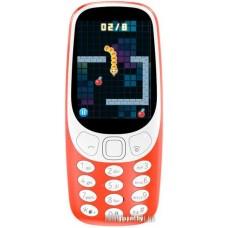 Мобильный телефон Nokia 3310 Dual SIM (красный)