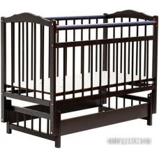 Детская кроватка Bambini Euro Style М 01.10.05 (темный орех)