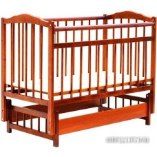 Детская кроватка Bambini Euro Style М 01.10.05 (светлый орех)