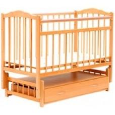 Детская кроватка Bambini Euro Style М 01.10.04 (натуральный)