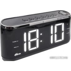 Радиочасы Ritmix RRC-1810 (черный)