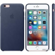 Чехол Apple Leather Case для 6 Plus / 6s Plus Midnight Blue [MKXD2]