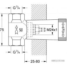 Скрытый механизм Grohe 29802000