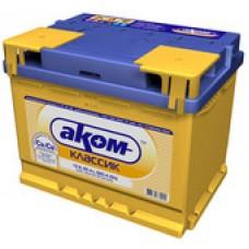 Автомобильный аккумулятор AKOM Классик 6CT-55 (55 А/ч)