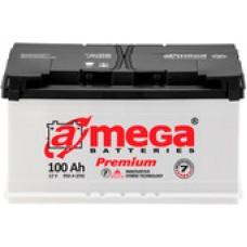 Автомобильный аккумулятор A-mega Premium 6СТ-100-А3 R (100 А/ч)