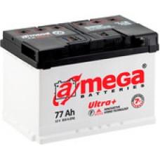 Автомобильный аккумулятор A-mega Ultra Plus 6СТ-77 R (77 А/ч)