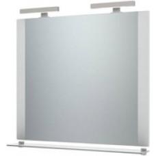 Triton Ника-100 зеркало с подсветкой белое