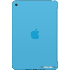 Чехол для планшета Apple Silicone Case for iPad mini 4 (Blue) [MLD32ZM/A]