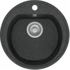 Кухонная мойка Polygran F-05 (черный)