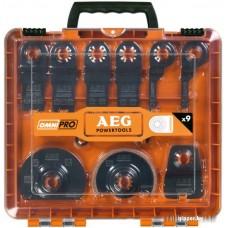 Набор оснастки AEG OmniPro 9 предметов [4932430314]