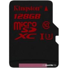Карта памяти Kingston microSDXC 128GB [SDCA3/128GBSP]