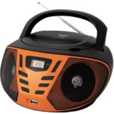 Портативная аудиосистема BBK BX193U (черный/оранжевый)
