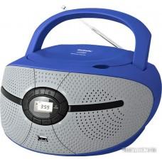 Портативная аудиосистема BBK BX195U (серый/синий)