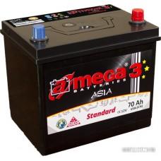 Автомобильный аккумулятор A-mega Standard Asia 70JR (70 А·ч)