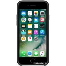 Чехол Apple Silicone Case для iPhone 7 Black [MMW82]