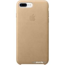 Чехол Apple Leather Case для iPhone 7 Plus Tan [MMYL2]