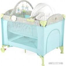 Манеж-кровать Happy Baby Lagoon V2 (голубой)