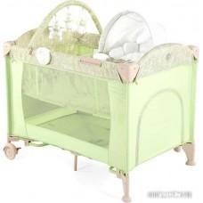 Манеж-кровать Happy Baby Lagoon V2 (зеленый)