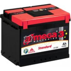 Автомобильный аккумулятор A-mega Standard 62 R (62 А·ч)