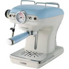 Рожковая кофеварка Ariete Vintage 1389 (голубой)